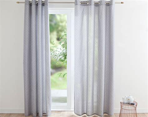 rideau chambre à coucher rideau motif scandinave becquet