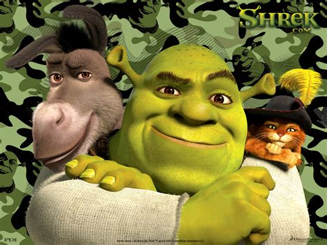 shrek  friends cartoon background image  nexus