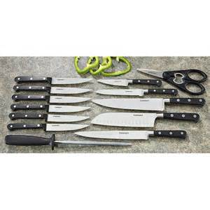 cuisinart kitchen knives 14 pc cuisinart forged cutlery set 162651 kitchen knives at sportsman 39 s guide