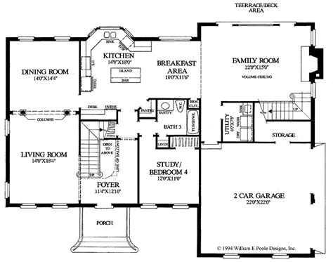 colonial floor plans georgian colonial house plans colonial home floor plans