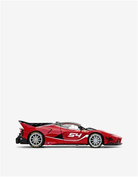 The evolution of the original fxx k produces 75 percent. Ferrari Ferrari FXX-K EVO 1:18 scale model Unisex | Scuderia Ferrari Official Store