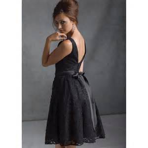 knee length wedding dresses black bridesmaid dress dress journal