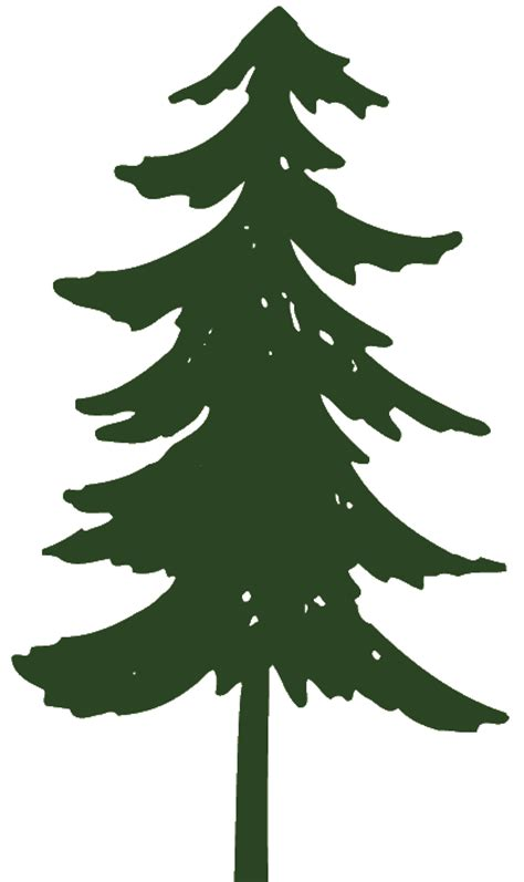 Pine Tree Graphics Clip Art