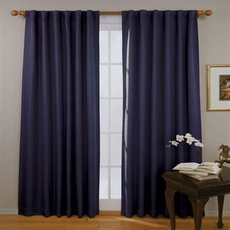 blue curtain panels eclipse fresno blackout blue curtain panel 84 in