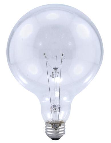 sylvania 25 watt g40 dimmable incandescent light bulbs 6