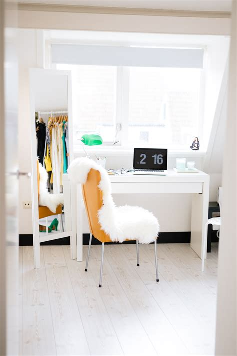 bureau malm ikea my place home office walk in closet