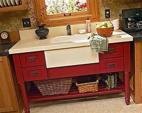 stand alone kitchen sinks best 25 dresser sink ideas on dresser to 5748