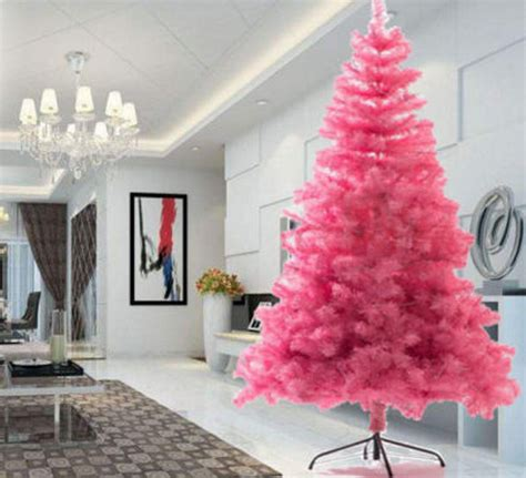 pink christmas trees are sending shoppers crazy where to