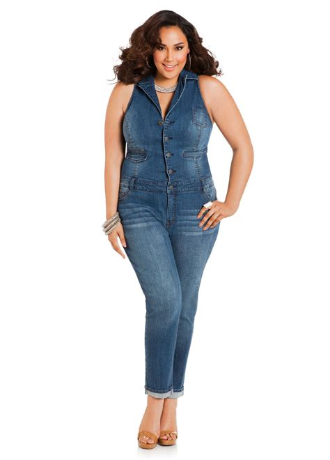 jumpsuit plus size chic plus size jumpsuits for stylish
