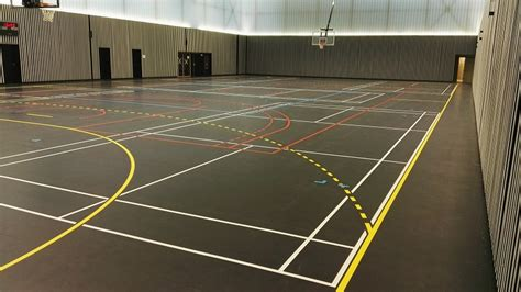 retracage lignes gymnase salle de sport sarl trace plus