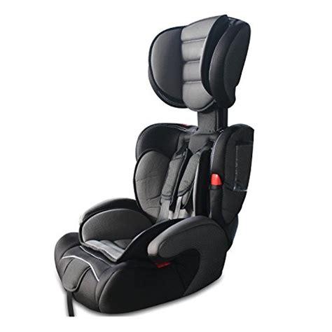 babyfield siège auto rehausseur noir pour bébé groupe 1