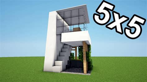 minecraft tuto maison 5x5