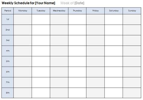 weekly calendar word template printable year calendar
