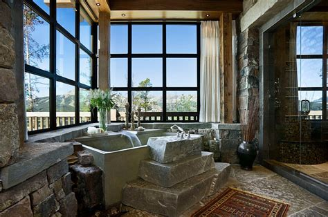 Enchanting Ideas For The Relaxed, Rustic Bathroom