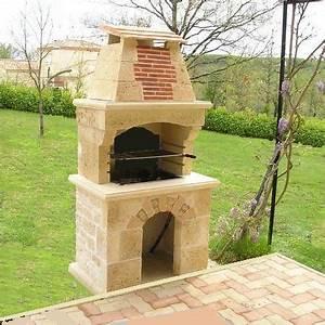 Barbecue En Dur : fabricant barbecue en pierre reconstitu e ~ Melissatoandfro.com Idées de Décoration