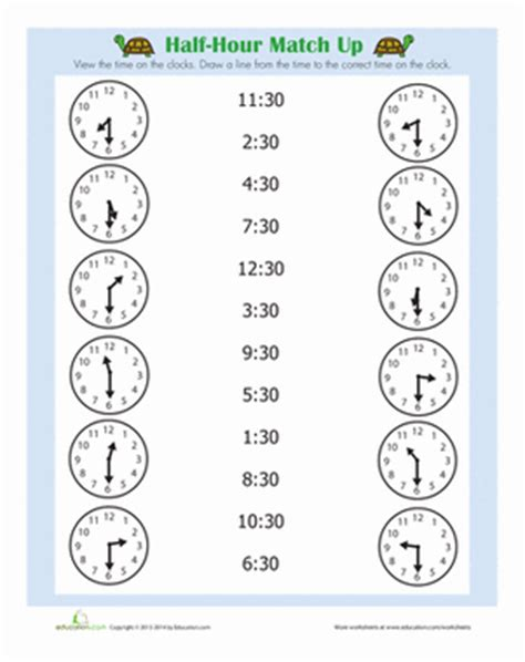hour math timeclocks st grade teaching math