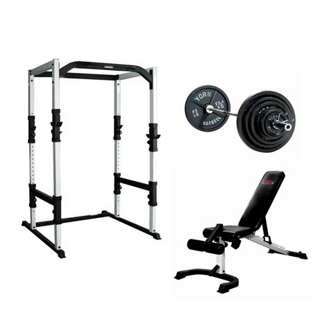 york power rack gym package