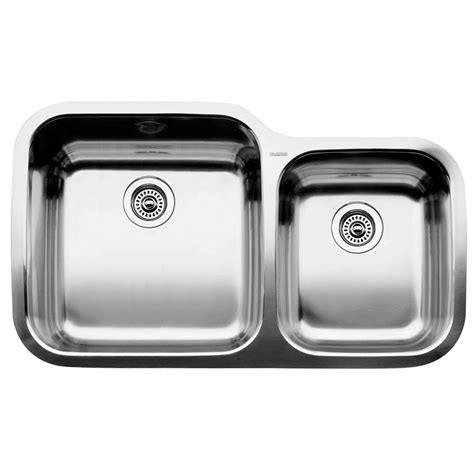 blanco 1 3 4 bowl undermount stainless steel kitchen sink