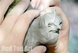 Nature Crafts: Clay Sculptures - Red Ted Art's Blog