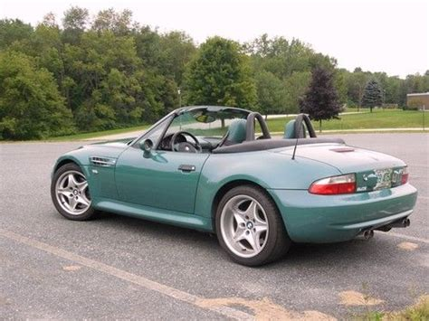 Sell Used Bmw Z3 M Roadster, 2000, Z3m, Evergreen, Low
