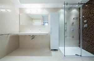 Receveur Salle De Bain : prix de pose d 39 un receveur de douche ~ Melissatoandfro.com Idées de Décoration