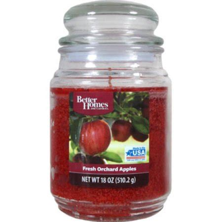 better homes and gardens candles better homes and gardens 18 ounce scented candle fresh