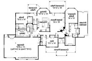 craftsman house floor plans craftsman house plans cedar creek 30 916 associated