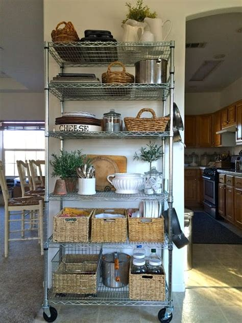 Here's a no kitchen pantry idea with purpose! 20 Faux Kitchen Pantry Ideas | Stow&TellU