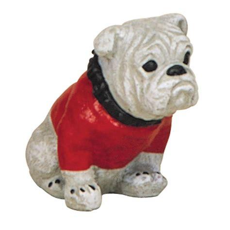 8 in bulldog garden protector statue 19 064213ll the home depot