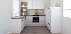 Küche U Form Offen : kleine lformige kuche designideen ~ Sanjose-hotels-ca.com Haus und Dekorationen