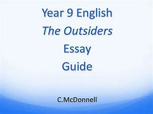 Essay Of Newspaper The Outsiders Essay Topics Business Plan For Music Store Research Design  Sample Paper Persuasive Essay Example High School also Secondary School English Essay The Outsiders Essay Topics The Outsiders Essay Questions The  Essay About Business