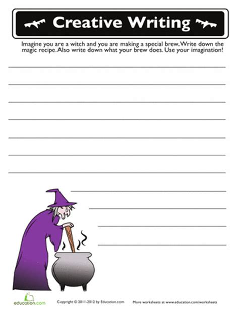 composition templates thirfd halloween printable writing prompts festival collections