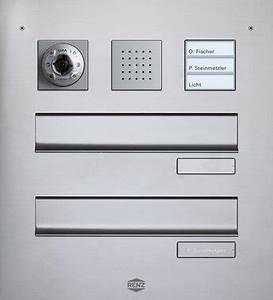 Briefkasten Mit Klingel Gegensprechanlage Und Kamera : gira t rsprechanlage in briefkastenanlagen ~ Frokenaadalensverden.com Haus und Dekorationen