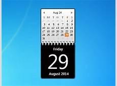 Zerog Calendar Windows 7 Desktop Gadget