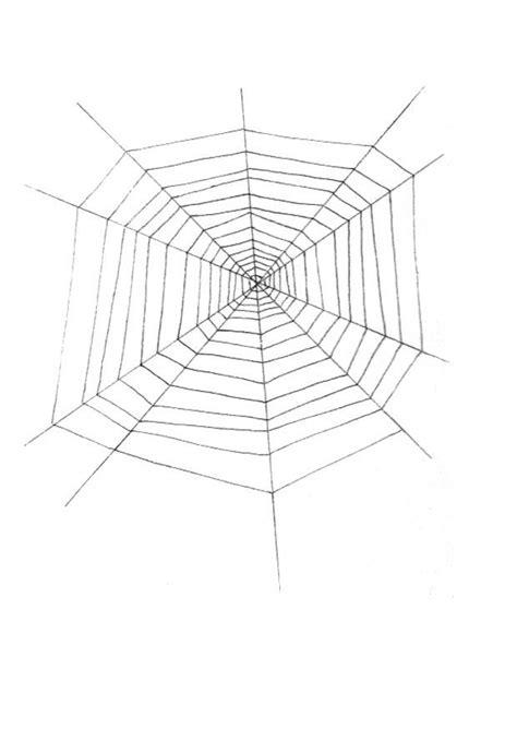 kleurplaat spinnenweb afb