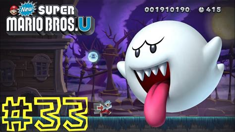 New Super Mario Bros U Frosted Glacier Ghost House