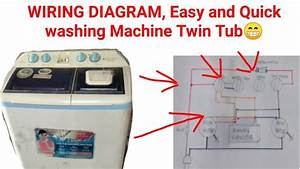 Wiring Diagram Washing Machine Twin Tub Model Hwm 268
