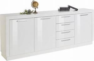 Günstige Sideboards Weiß Hochglanz : sideboard breite 200 cm online kaufen otto ~ Bigdaddyawards.com Haus und Dekorationen
