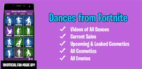 dances  fortnite emotes shop wallpapers