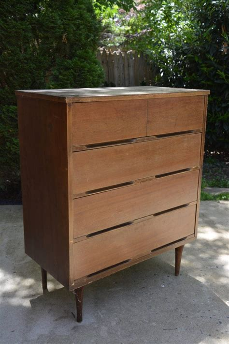 Before & After Midcentury Modern Dresser Makeover