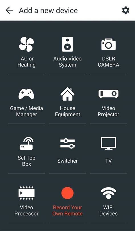 turn your android phone into a universal remote