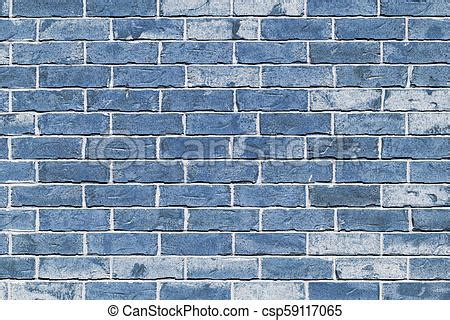 wall from light blue brick background of finishing