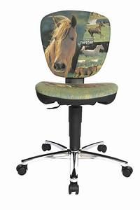 Topstar Chaise De Bureau Pour Enfants Kiddi Star Horses