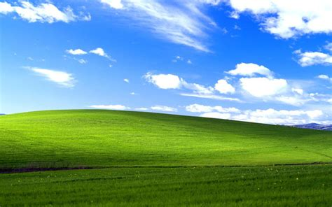 Location Of The Microsoft Windows Xp Default Wallpaper