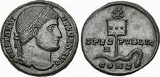 La primera moneda cristiana de Constantino: el significado ...