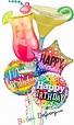 """Happy Birthday """"Cheers"""" Bouquet"""