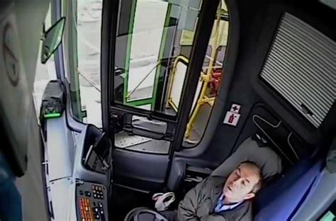 passengers injured  bus driver falls asleep slams