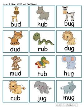 short  jungle differentiated short  word family games