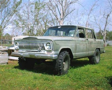 garys  jeep wagoneer specs  modification info