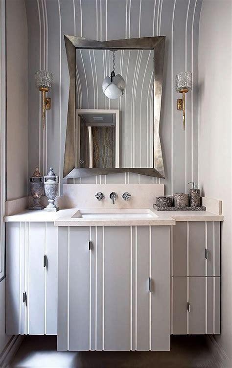 Glamorous Florida Bathroom by A Glamorous Parisian Apartment Using Ochres And Grey Color